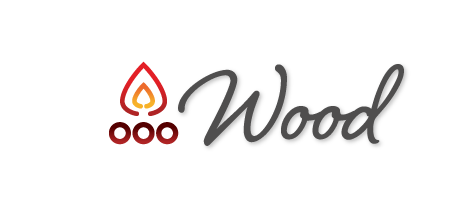 wood logo icon - Stoves